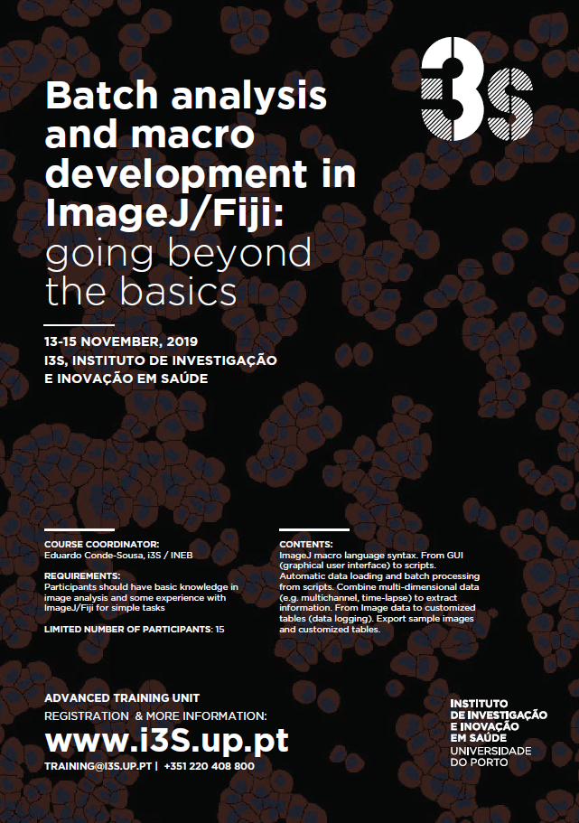 Batch analysis and macro development in ImageJ/Fiji: going beyond the basics